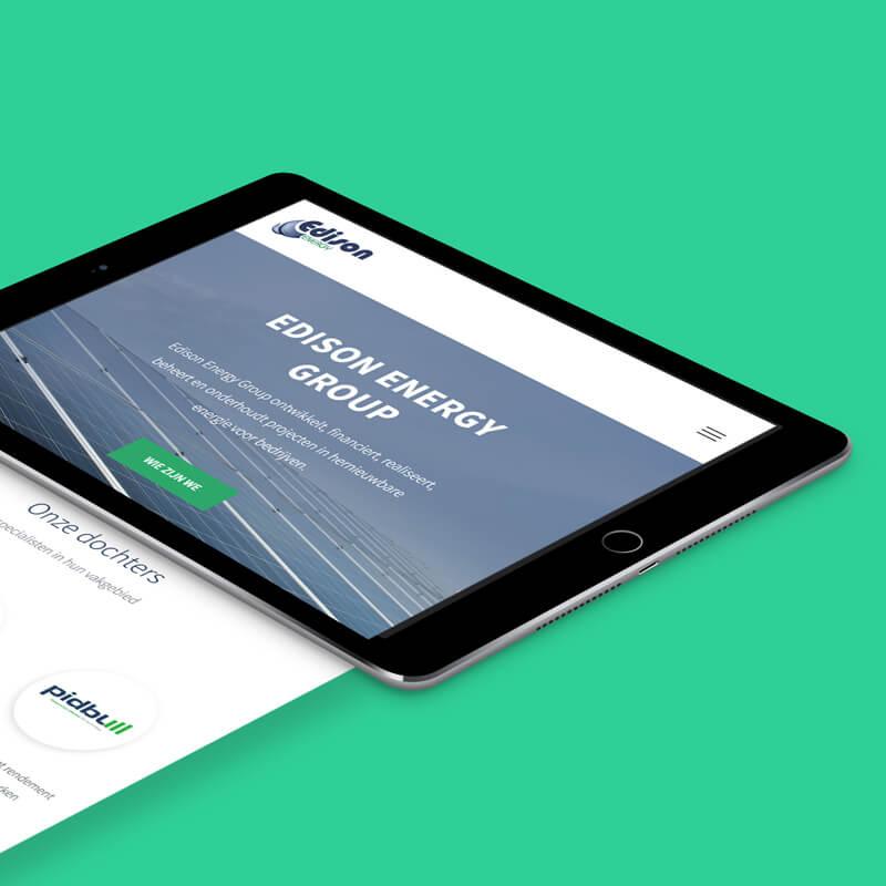Responsive website ontwerp